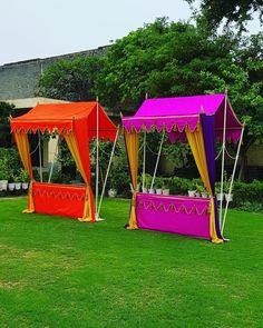 Food Stall Tents for Mehndi Function wedding stage Food Stalls for Indian Weddings Wedding Backdrop Design, Desi Wedding Decor, Wedding Reception Backdrop, Tent Wedding, Wedding Mandap, Wedding Receptions, Garden Wedding, Wedding Table, Wedding Ideas