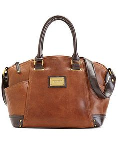 Tignanello Handbag, Classic Revival Leather Satchel - Satchels - Handbags & Accessories - Macy's