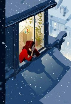 Snow Break by Pascal Campion.