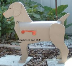 Dog Breed Mailboxes from Mailboxes and Stuff