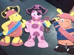 muñecos bakyardigans de tamaño oficio