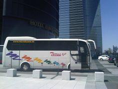 Traslado de grupo en #Madrid Hotel Eurostar Spain And Portugal, Madrid, Hotels, Van, Tours, Circuits, Group, Viajes, Vans