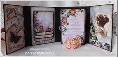 Margyz Paper Games: Gather Your Dreams Mini Album for Megs Garden