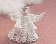 Angel Crochet Pattern - The South Maid Thread Christmas Angel