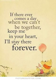 One of my all time favourites. Love winnie the pooh : )