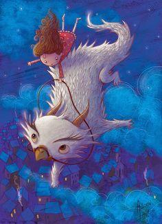 Ilustrador Adilson Farias: Dragon