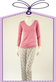 rose nightdress by PIP Studio online available at www.pyjama-und-co.com