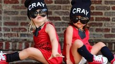 Baby got style: Everleigh Soutas and Ava Foley Cole And Savannah, Savannah Chat, Twin Outfits, Matching Outfits, Cute Little Girls, Cute Kids, Forever And Forava, Mother Daughter Outfits, Future Daughter