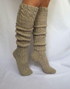 Knee High Socks, Boot Cuffs, Garter, Leg Warmers, Footwear, Booty, Legs, Knitting, Fashion