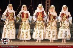 Dropulli, South Albanian costumes worn at the  Gjirokastër National Folklore Festival 2010