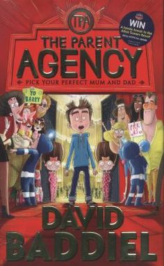 Laugh out Loud (Lollies) Awards2016: 9-13 years category. David Baddiel - The parent agency : pick your perfect mum and dad