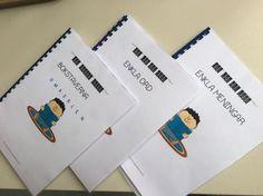 Arbetsböcker för läsinlärning i långsam takt Teacher Education, School Teacher, Kids Writing, Kids Reading, Learn Swedish, Swedish Language, Writing Promts, 1 An, New Words