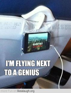 Great way to keep the toddlers entertained while flying!