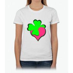Shamrock Clover St Patrick's Day- saint patrick day shirts Womens T-Shirt