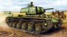 1941 KV1-E contraataque otoño de 1941 - Vincent Wai
