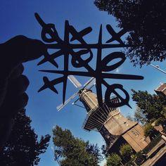 Paper Cutouts On Famous Landmarks - De Gooyer Windmill