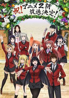Kakegurui Anime Show 2nd Season Gets Green-lit.