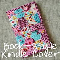 kindl cover, clover violet, tutorials, clovers, bag, sew projectstip, violets, cover tutori, kindle cover