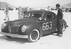1940 Ford coupe; George Barris