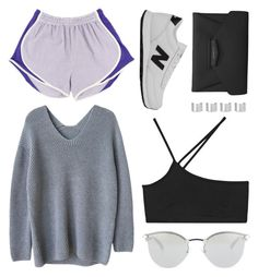 """give it up"" by grey-eyes ❤ liked on Polyvore featuring New Balance, Givenchy, Fendi, Maison Margiela and Helmut Lang"