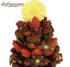 londres - Disfrutessen - Ramos de fruta y chocolate