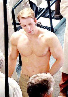 Captain America.  Hot damn!