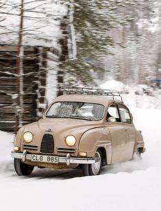 Saab 96 powerful