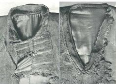 Collar of the Skjoldehamn shirt and tunic - (970-1050) Norway