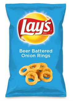 Wouldn't Beer Battered Onion Rings be yummy as a chip? Lay's Do Us A Flavor is back, and the search is on for the yummiest flavor idea. Create a flavor, choose a chip and you could win $1 million! https://www.dousaflavor.com See Rules.