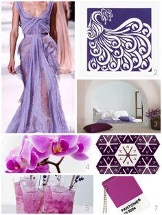Radiant Orchid Colour ideas 2014