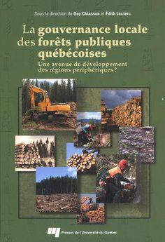 Au regard de la crise profonde qui touche la santé des forêts québécoises, la question de la gouvernance locale des forêts se pose avec force. Ce livre porte sur six cas de gouvernance locale des forêts en Abitibi-Témiscamingue et en Outaouais. Leurs contributions au développement régional, en matière de travail, d'environnement et d'intégration, sont évaluées.  Cote: SD 568 Q4G68 2013