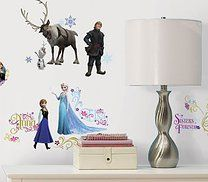 Pleasurable Disney Frozen Peel and Stick Wall Decals. Huge array of Frozen Backdrop Wall Stickers (Add-Ons) for Birthday at PartyBell. Frozen Wall Decals, Wall Decal Sticker, Wall Stickers, Bedroom Stickers, Decorative Stickers, Frozen Disney, Frozen Movie, Frozen Party, Frozen Birthday
