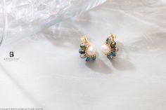 Bonny & Read 平價飾品 - 復古特洛絲夾式耳環  NT.175