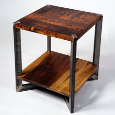 12 Awesome Industrial Furniture projects To Complement Your Industrial Decorating Project Welded Furniture, Steel Furniture, Fine Furniture, Furniture Projects, Custom Furniture, Furniture Decor, Furniture Design, Furniture Stores, Furniture Plans