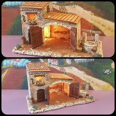 Santons Atelier de Fanny à Aubagne-Santons et Crèches de Noël-Santons de Provence - Etable N°3 - 55.00 EUR