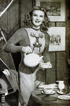 Ginger Rogers for Lipton Tea 1947. Y.*