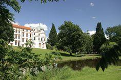 Eine Seitenansicht vom Celler Schloss.