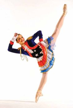 "Kara Cooper of The Washington Ballet in ""The Nutcracker"" Photo by Steve Vaccariello"