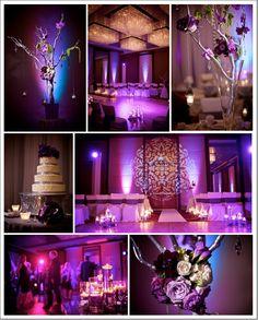 Aaaah this is my dream wedding reception!!!! Josh can we plz get a Loan lol!!