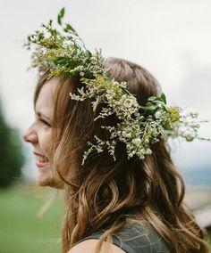 Coiffure mariage : DIY Oregon Destination Wedding: Laureen  Seth