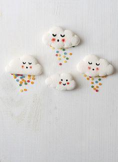 Ideas muy dulces para sentirse en las nubes! #sweet #clouds #ideas #marshmallow
