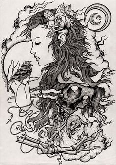 SUCH a sick piece! I think this is number 1 on my list for next tattoo candidates!