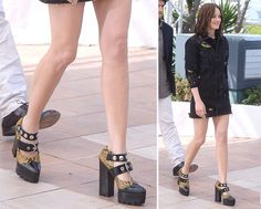 Surprising Exactly No One, Celebs Wore a Ton of Designer Shoes While Out and About at Cannes