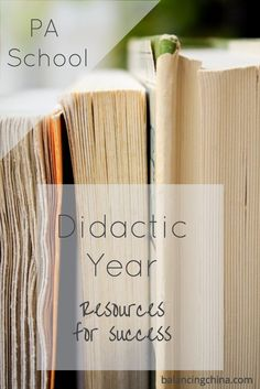 Today, I'm sharing my favorite resources for didactic year! Some of these will even last you into clinicals. Check out this list for a successful year!