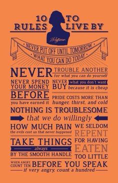 Thomas Jeffersons ten life rules