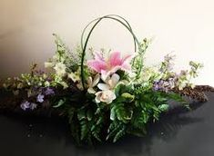Image result for ikebana horizontal arrangements
