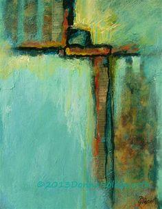 The Cage - Original Fine Art for Sale - © Donna Holdsworth