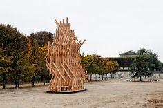 Kengo Kuma, Yure, Jardin des Tuileries, Paris