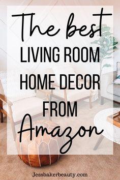 Rooms Home Decor, Cheap Home Decor, Living Room Decor, Decorating Small Spaces, Decorating Ideas, Decor Ideas, Gift Ideas, Bar Cart Decor, Amazon Home