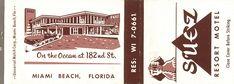 Suez Resort Motel, Miami Beach, Florida | Flickr - Photo Sharing!